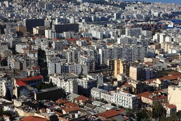 Wall Murals Algeria skyline von algier