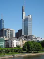 Fototapeta Hochhäuser in Frankfurt