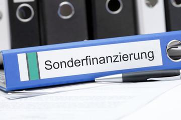 Aktenordner Sonderfinanzierung