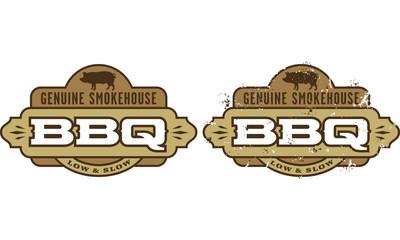 Genuine Smokehouse Barbecue Symbol
