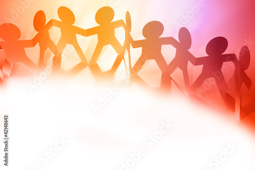 Paper Doll Cutout People Stock Photo And Royalty Free Images On