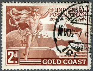 GOLD COAST - 1949: devoted Universal Postal Union (1874-1949)