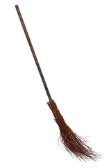 Wicked broom isolated