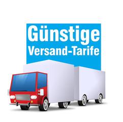 günstige versandtarife truck lkw lieferung