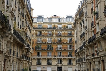 Paris facade