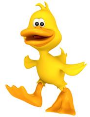 duck toon walking