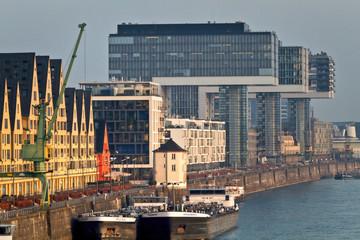 Fototapete - Kranhäuser in Köln