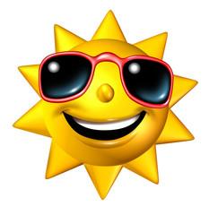 Happy Sun Character
