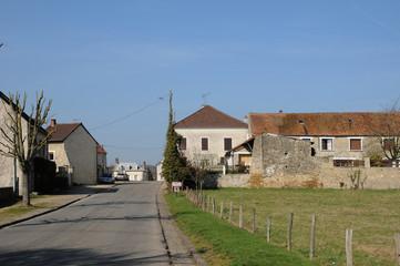 the village of Sagy in V al d Oise