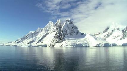 Fototapete - antarctic view