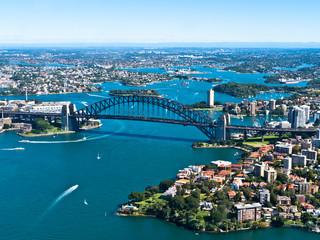 Foto op Canvas Australië Sydney Harbour Bridge