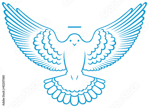 """""""Vector Dove Symbol"""" Stock Image And Royalty-free Vector"""