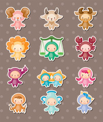 cute zodiac stickers