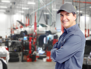 Auto mechanic.