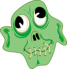 Poster de jardin Creatures Zombie