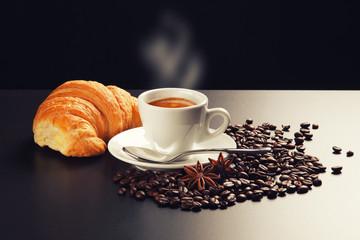 caffè e brioches