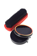 Shoe Polish and Brush