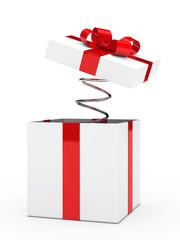 gift box spiral