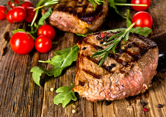 In de dag Steakhouse Grilled beef steak