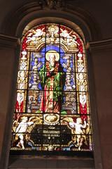 Foto op Plexiglas Stained Paris - Église Saint-Roch