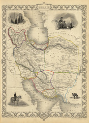 Iran old map