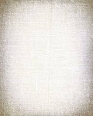 white paper as grunge background with vignette