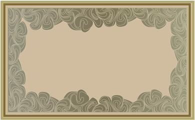 абстрактный фон рамка в стиле арт-деко