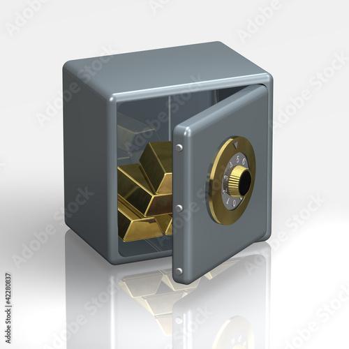 tresor zahlenschloss stockfotos und lizenzfreie bilder auf bild 42280837. Black Bedroom Furniture Sets. Home Design Ideas