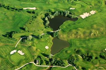 photo aerienne Golf