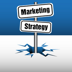 Marketing and strategy plate