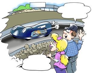 Modern new C02 - Auto racing