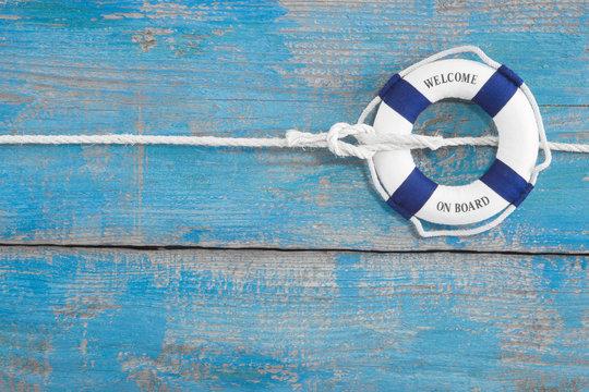 Welcome on Board - Maritimer Look