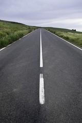 Fast road, in a European mountain