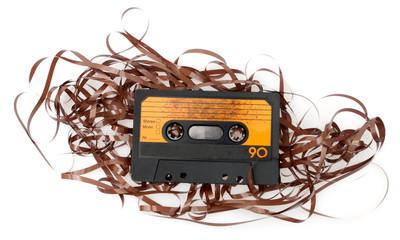 Retro Audio Cassette Tape