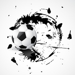 abstract football design