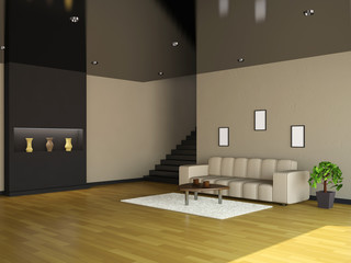 Interior of the big room
