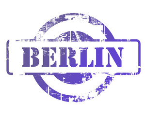 Berlin city stamp