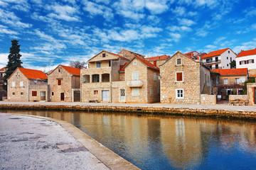 old town Vrboska, Croatia