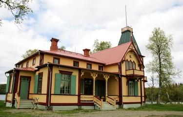 Old fancy mansion