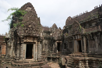 Ancient temple in Angkor, Cambodia