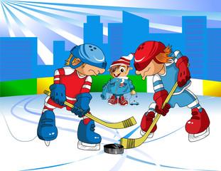 hockey in february