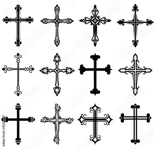 Эскизы тату православный крест
