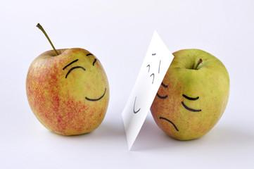 apple sadness