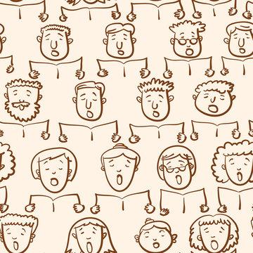 Mixed Choir Pattern