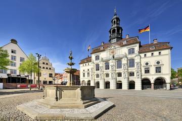 Das Rathaus zu Lüneburg