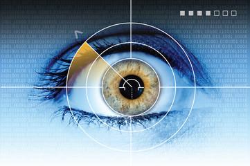 technology eye scan radar