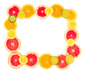 The Frame is made from a Mixed citrus fruit