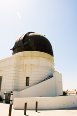 Observatory in hollywood hill