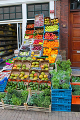 Vegetable shop in Gorinchem. Netherlands