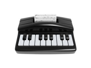 piano typewriter